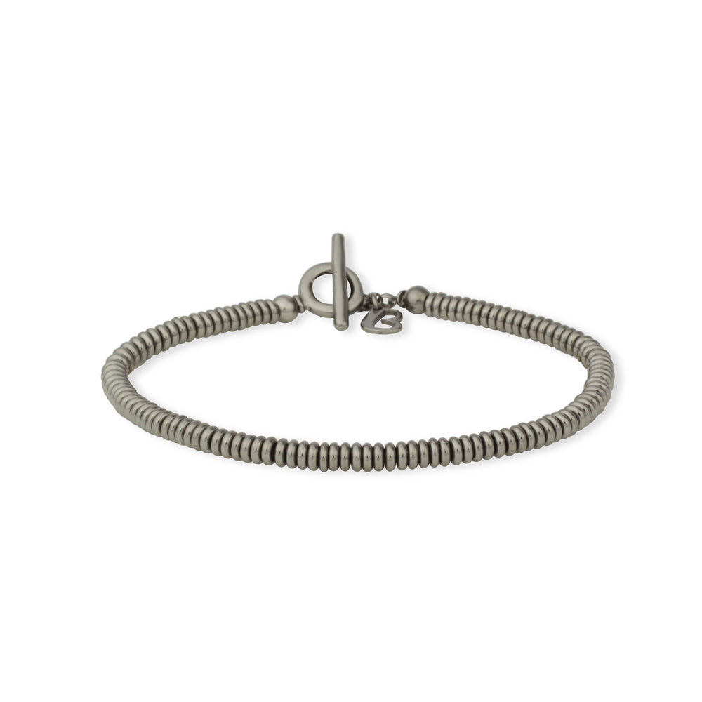 Bracciale Tube Lucido 3mm