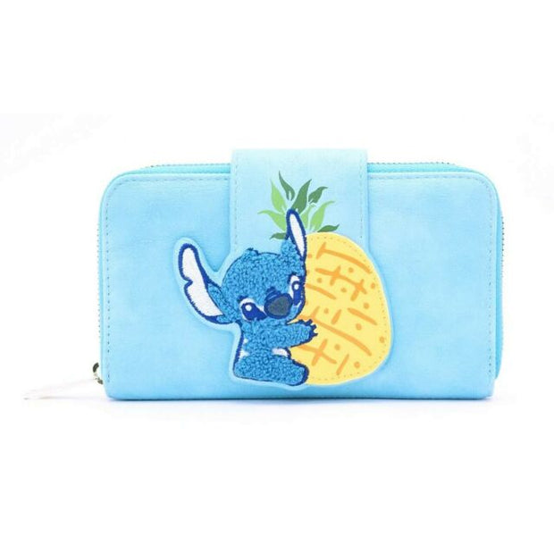LOUNGEFLY - DISNEY STITCH PINEAPPLE WALLET