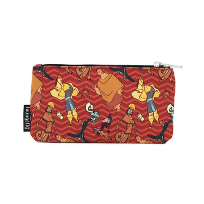 LOUNGEFLY - DISNEY EMPERORS NEW GROOVE NYLON POUCH