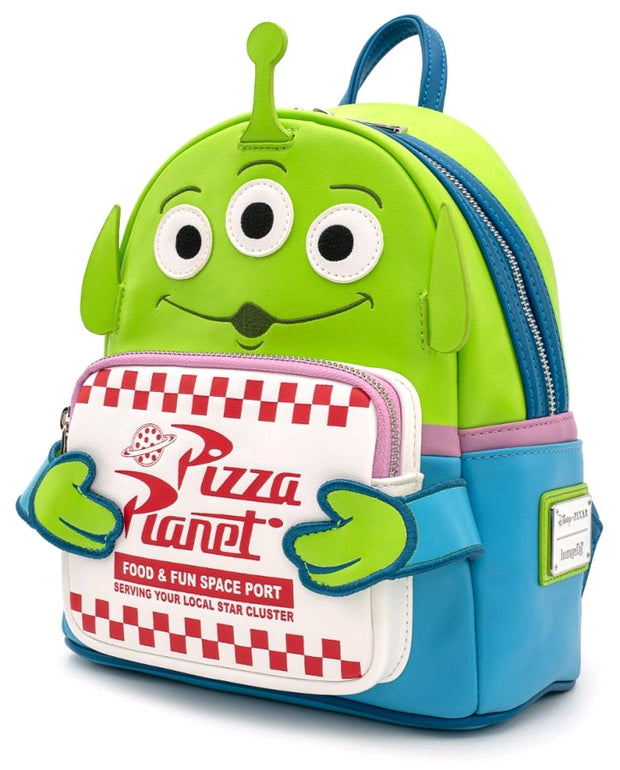 LOUNGEFLY - Toy Story Alien Pizza Box Mini Backpack