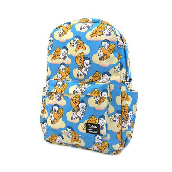 LOUNGEFLY - DISNEY BABY HERCULES/PEGASUS SQUARE NYLON BACKPACK