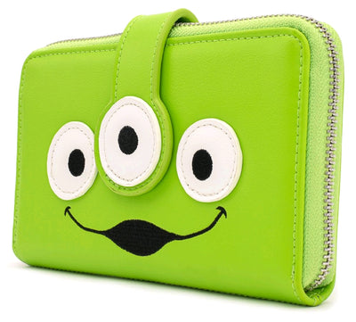 LOUNGEFLY - Toy Story Alien Eye Zip Around Wallet