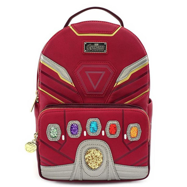LOUNGEFLY - MARVEL IRON GAUNTLET ENDGAME HERO MINI-BACKPACK