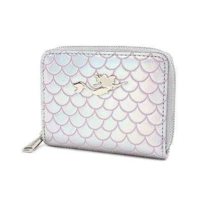 LOUNGEFLY - DISNEY THE LITTLE MERMAID 30TH ANNIVERSARY PEARL WALLET