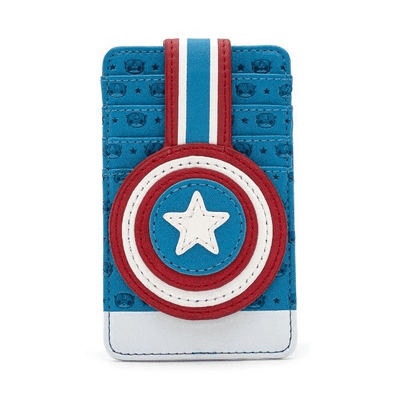 POP BY LOUNGEFLY MARVEL CAPTAIN AMERICA CARDHOLDER