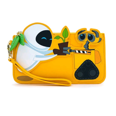 LOUNGEFLY WALL-E PLANT BOOT WALLET