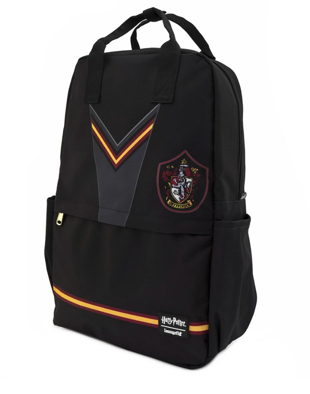 Loungefly X HARRY POTTER GRYFFINDOR SUIT SQUARE NYLON BACKPACK