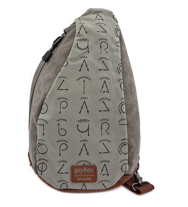 LOUNGEFLY X HARRY POTTER SPELLS SLING