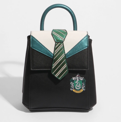 HARRY POTTER X DANIELLE NICOLE - SLYTHERIN UNIFORM MINI BACKPACK