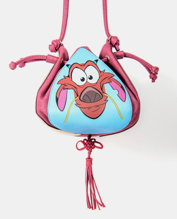 Danielle Nicole - Disney Mulan 4 Sided Drawstring Crossbody
