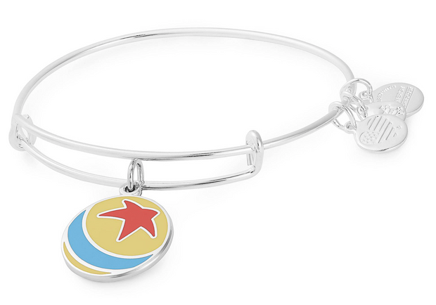 Disney Parks Exclusive Bangle by Alex and Ani - Pixar Ball (Silver)