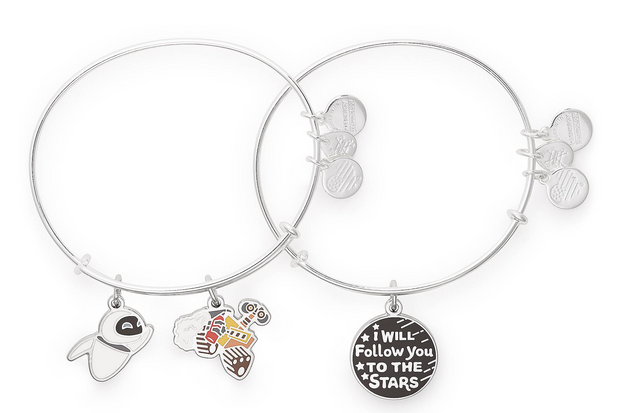 Disney Parks Exclusive Combo Bangle by Alex and Ani - Wall-E (Silver)