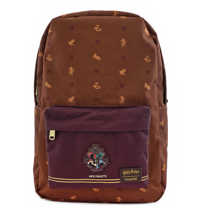 Loungefly x Harry Potter Hogwarts Houses Backpack