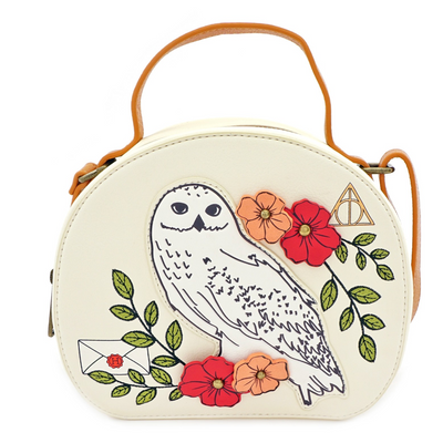 Loungefly X Harry Potter Hedwig Floral Crossbody