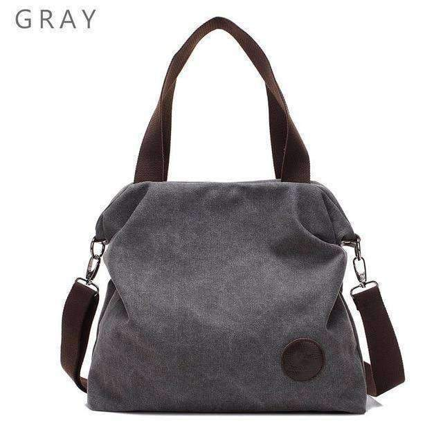 Deal Builder  -  The Petite Outlander  -  Gray  -  Shoulder Bags