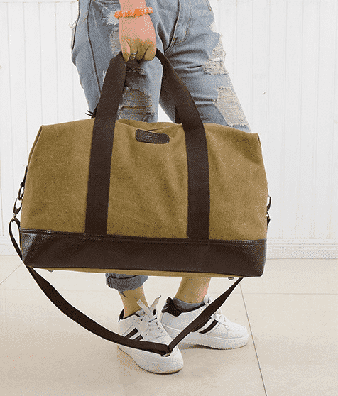 Deal Builder  -  The Weekend Bag  -  Khaki  -  Hand Bags