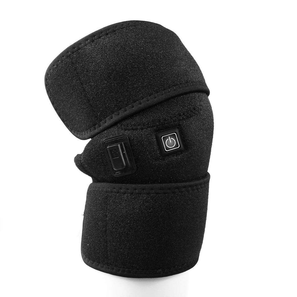 Electric Infrared Heated Knee Pad  -  SINGLE KNEE  -  Honey Locker -  Knee Brace