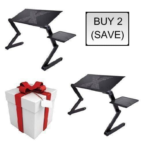 Ergonomic Executive Multi-functional Laptop Stand  -  BUY 2 (SAVE) / STANDARD  -  Honey Locker -  Lapdesks
