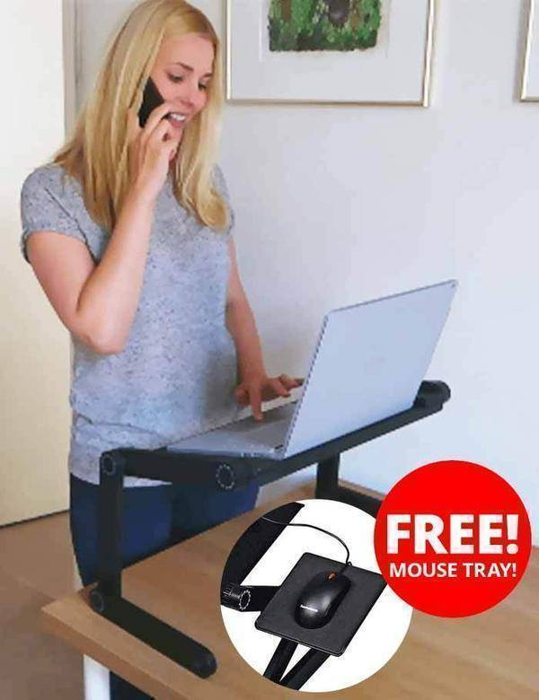 Ergonomic Executive Multi-functional Laptop Stand  -  BUY ONE / STANDARD  -  Honey Locker -  Lapdesks
