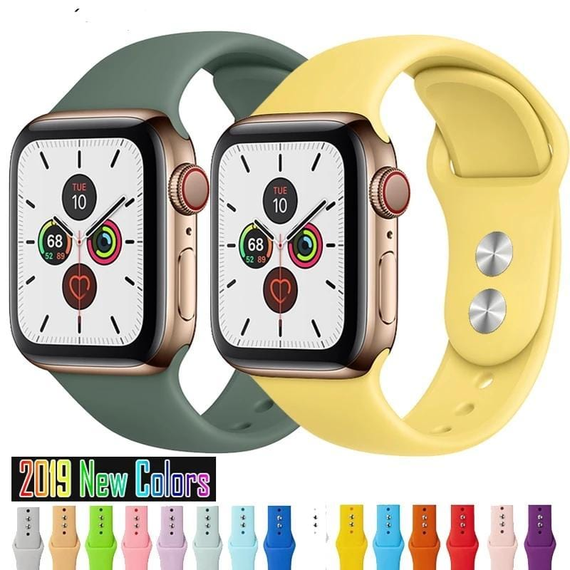BOGO FREE Apple Watch Silicone Sports Bands (All Models)