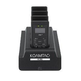 KDC350 4-Slot Charging Cradle for UK