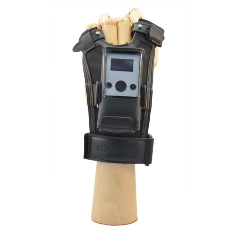 KDC280C-BLE 2D Imager Bluetooth Low Energy Barcode Scanner + Finger Trigger Glove: Left Hand, Medium Size