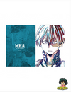 POCHETTE A4 MY HERO ACADEMIA SHOTO TODOROKI ANI ART SERIES - izuku-shop