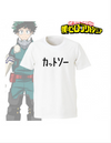 T-SHIRT FEMME MY HERO ACADEMIA DEKU OFFICIEL - izuku-shop