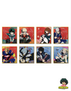 MINI SHIKISHI MY HERO ACADEMIA HÉROS & VILAINS COLLECTION - izuku-shop