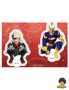 FIGURINE MY HERO ACADEMIA DUO ALL-MIGHT & KATCHAN ACRYLIC STAND - izuku-shop