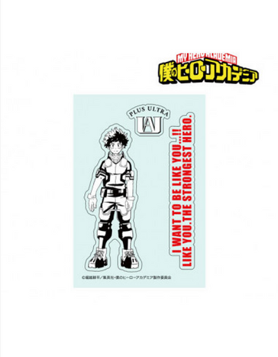 STICKER AUTOCOLLANT MY HERO ACADEMIA IZUKU MIDORIYA - izuku-shop