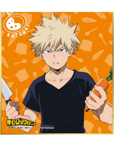 MINI SHIKISHI MY HERO ACADEMIA TRAINING CAMP CURRY COLLECTION - izuku-shop