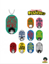PORTE CLÉS MY HERO ACADEMIA TRADING DIALOGUE SERIES - izuku-shop