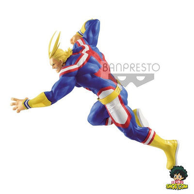FIGURINE MY HERO ACADEMIA <br> ALL MIGHT <br> THE AMAZING HEROES SERIES 21CM - izuku-shop