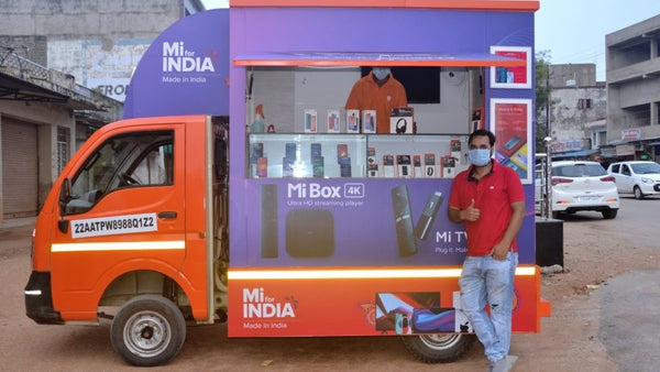"""Store-on-Wheels"" by Xiaomi MI"