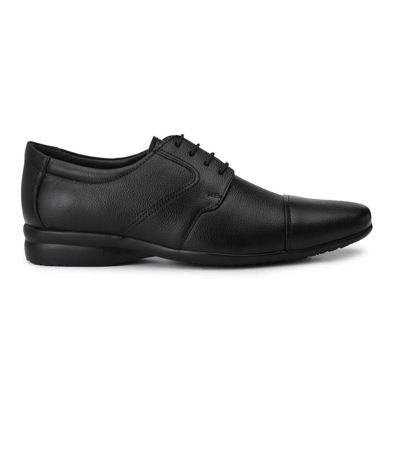Men's Black Synthetic Formal Shoes