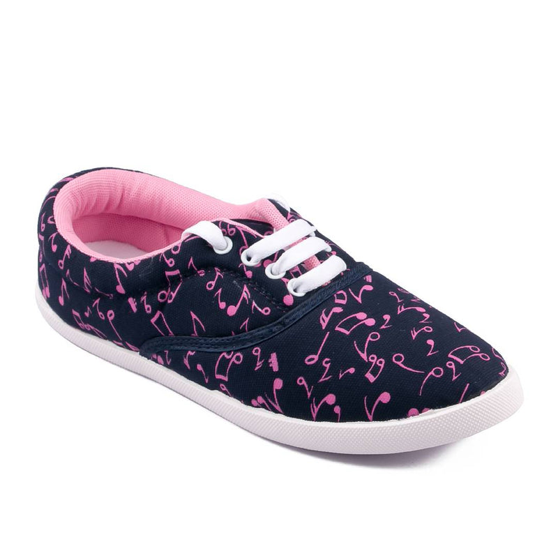 Multicoloured Denim Casual Shoes for women