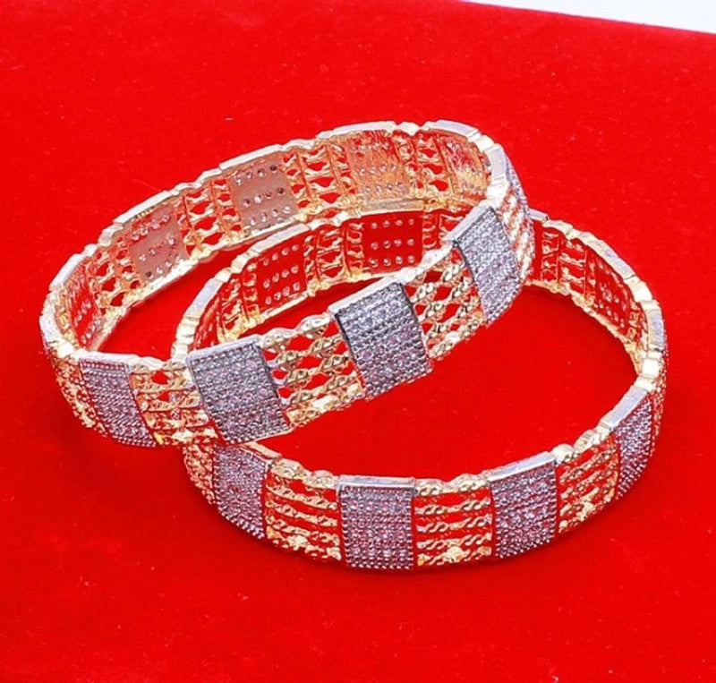 American Diamond Bangals For Girl [Only 2.4 Size]