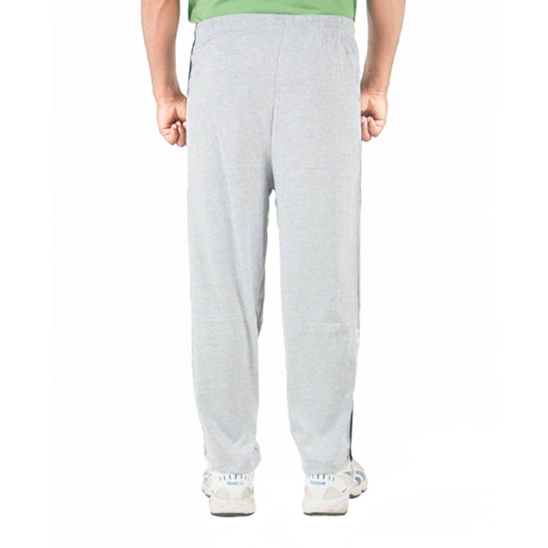 Grey Solid Hosiery Trackpant