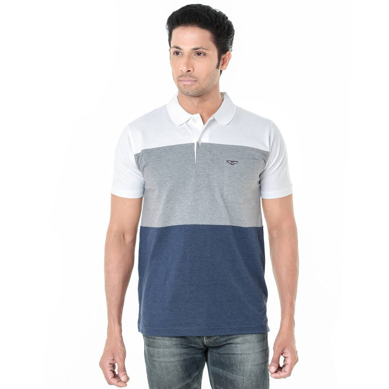 Men's Multicoloured Polos Cotton Casual T-Shirts