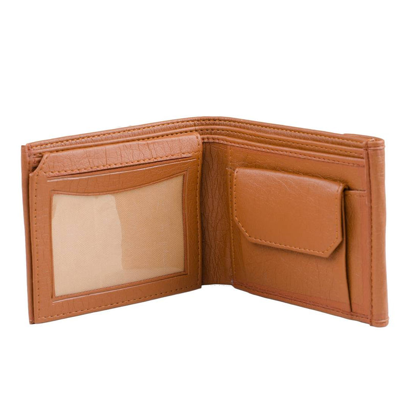 Stylish Tan Colour Wallet For Men'S
