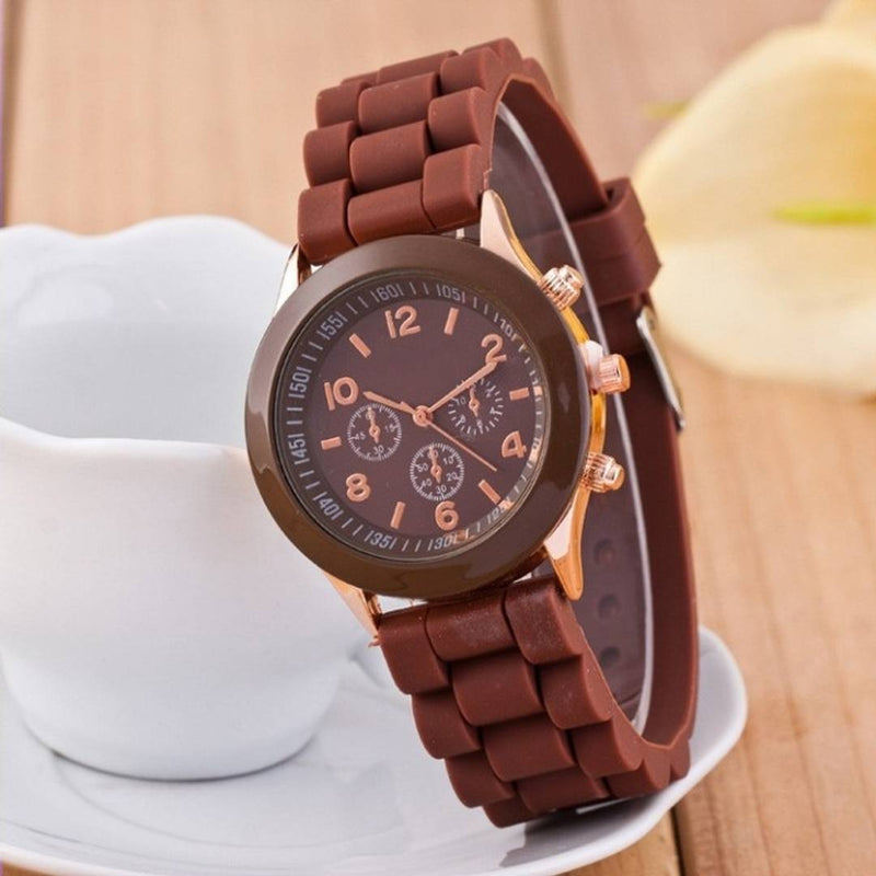 Analogue brownDial Women's & Girl's Watch