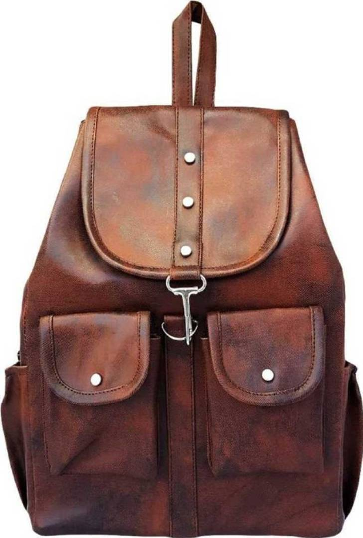 Elegant PU Backpack For Women's