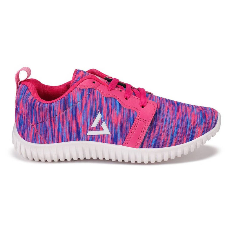 Pink Mesh Sport Shoes For Women