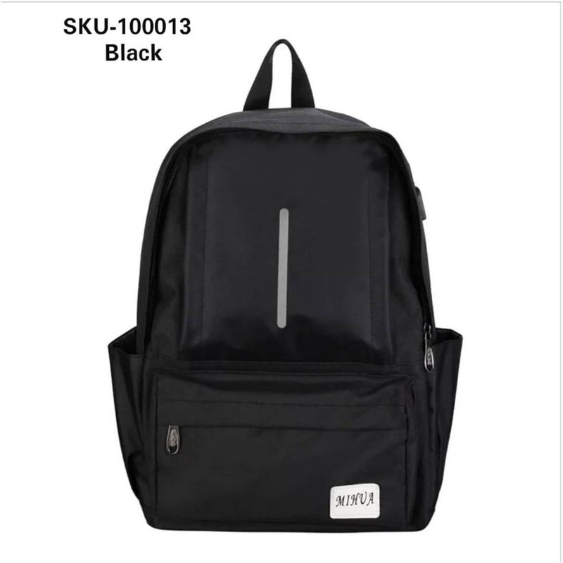Elegant Men's Anti-theft Travel Laptop Backpack with USB
