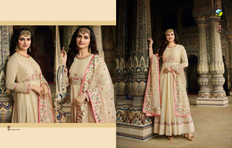 Women's Embroidered Semi Stitched Suit With Dupatta