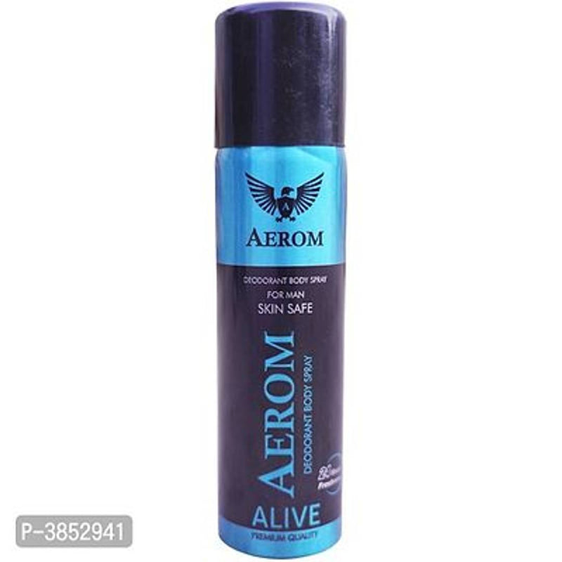Aerom Alive & Pearl Deodorant Body Spray For Men & Women, 300 ml (Pack Of 2)