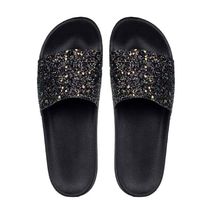Stylish and Trending  Black Flip-Flops For Girls Slides