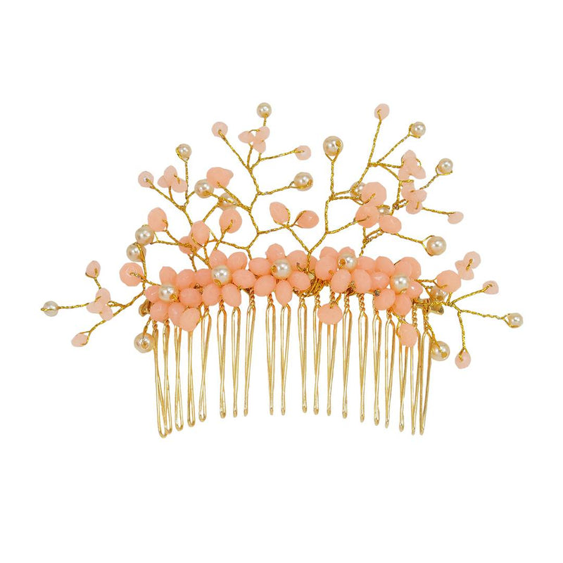 Women's Beautiful Peach Stylish and Trendy Hair Clip