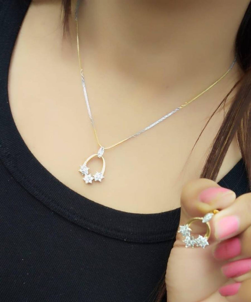 Stylish Alloy Pendant Set for Women